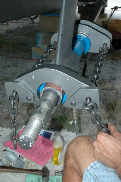 Hydraulic Cutlass Bearing Removal : Shaft bearing etiquette steve d antonio marine consulting