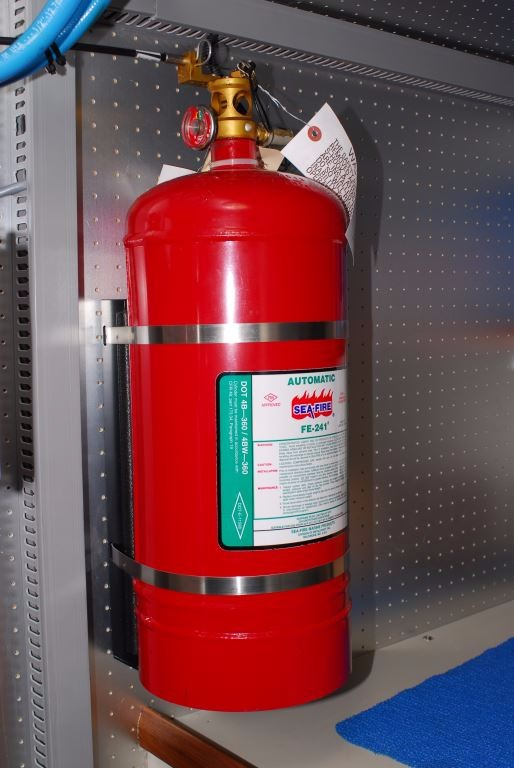 Marine Engine Room: Portable Fire Extinguishers; Not All Are Created Equal